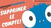 Supprimer Compte Amazon Business
