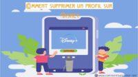 Supprimer Compte Disney