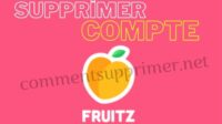 supprimer compte fruitz