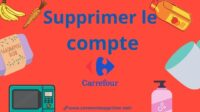 Supprimer Compte Carrefour