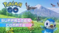 Supprimer Compte Pokemon Go