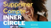 supprimer compte inner circle